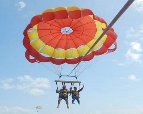 Parasailing | Bali Water Sports and Ubud Tour