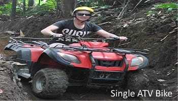 Bali Single ATV Ride Tour | Tours Riding an Single ATV Bike | Bali Golden Tour