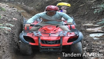 Bali Tandem ATV Ride Tour | Tours Riding an Tandem ATV Bike | Bali Golden Tour