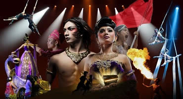 BALI DEVDAN SHOW TOUR | PERFORMANCE TREASURE ARCHIPELAGO AT BALI NUSA DUA THEATER | BALI GOLDEN TOUR
