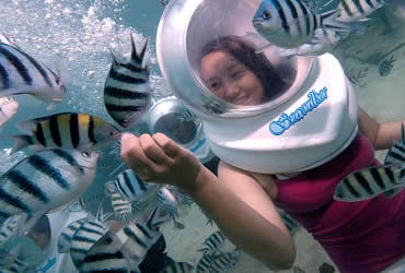 Bali Seawalker | Bali Activities Tour | Bali Golden Tour