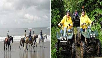 Bali Horse Riding and ATV Ride Tour | Bali Double Activities Tour Packages | Bali Golden Tour