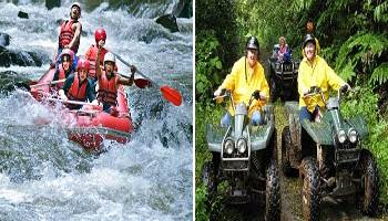 Bali Rafting and ATV Ride Tour | Bali Double Activities Tour Packages | Bali Golden Tour
