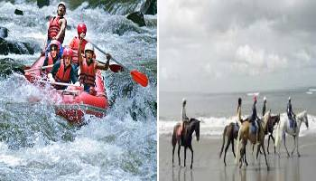 Bali Rafting and Horse Riding Tour | Bali Double Activities Tour Packages | Bali Golden Tour