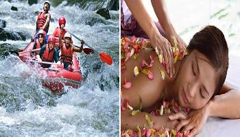 Bali Rafting and Spa Packages Tour | Bali Double Activities Tour Packages | Bali Golden Tour