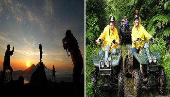 Bali Trekking and ATV Ride Tour | Bali Double Activities Tour Packages | Bali Golden Tour