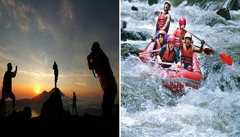 Bali Trekking and Rafting Tour | Bali Double Activities Tour Packages | Bali Golden Tour