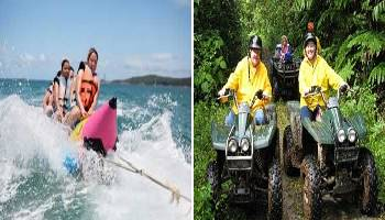 Bali Water Sports and ATV Ride Tour | Bali Double Activities Tour Packages | Bali Golden Tour