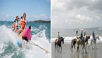 Bali Water Sports and Horse Riding Tour | Bali Double Activities Tour Packages | Bali Golden Tour