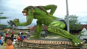 Ogoh-Ogoh (Giant Puppet) | Bali Travel Information | Bali Golden Tour