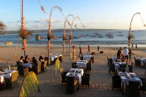 Bali Jimbaran Bay Beach Bali Fishing Beach Fresh Seafood Dinner