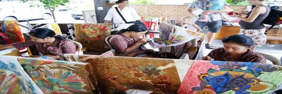 Tohpati Village | Bali Batik Art | Bali Interest Place | Bali Golden Tour