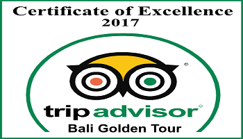 TripAdvisor Certificate of Excellent 2017 - Bali Golden Tour
