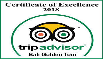 TripAdvisor Certificate of Excellent 2018 - Bali Golden Tour