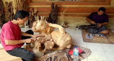 Bali Bird Park and Ubud Tour | Bali Mas Wood Carving Art Village | Bali Golden Tour