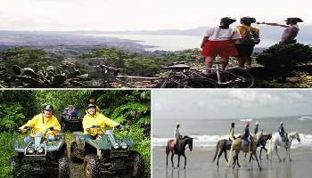 Bali Cycling, ATV Ride and Horse Riding Tour | Bali Triple Activities Tour Packages | Bali Golden Tour