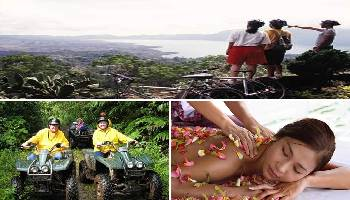 Bali Cycling, ATV Ride and Spa Packages Tour | Bali Triple Activities Tour Packages | Bali Golden Tour