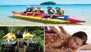 Bali Water Sports, ATV Ride and Spa Tour | Bali Triple Activities Tour Packages | Bali Golden Tour