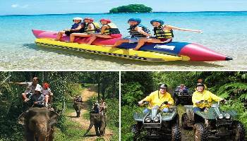 Bali Water Sports, Elephant and ATV Ride Tour | Bali Triple Activities Tour Packages | Bali Golden Tour