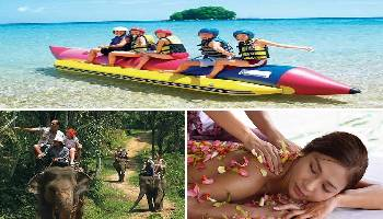 Bali Water Sports, Elephant Ride and Spa Tour | Bali Triple Activities Tour Packages | Bali Golden Tour