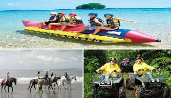 Bali Water Sports, Horse Riding and ATV Ride Tour | Bali Triple Activities Tour Packages | Bali Golden Tour