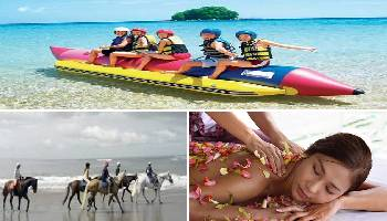 Bali Water Sports, Horse Riding and Spa Tour | Bali Triple Activities Tour Packages | Bali Golden Tour